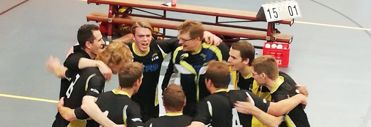 Heren 1 wint na mooie comeback van Spaarnestad!